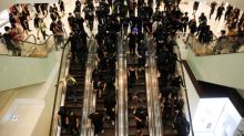 Hong Kong protesters and police clash, metro and shops targeted
