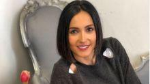 Caterina Balivo, compleanno con gli amici: la foto