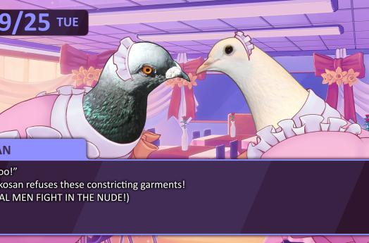 Devolver Digital to localize remake of pigeon-dating sim Hatoful Boyfriend