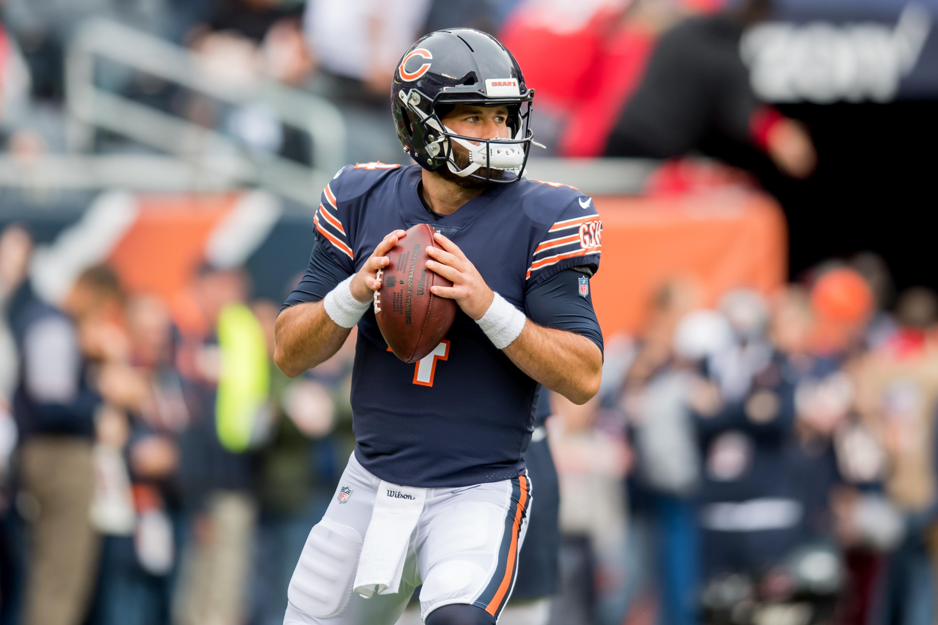 the latest 364bb 2fe36 Bears' Chase Daniel slated to start for injured Mitch Trubisky