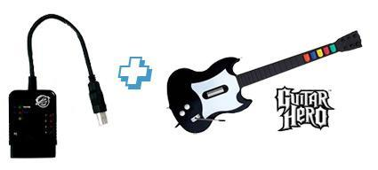 Pelican PS2 to PS3 adapter is Guitar Hero ready