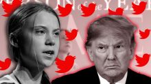 Trump didn't win Time's 'Person of the Year,' so he mocks the teen who did