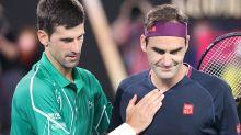 'On the horizon': Novak Djokovic's ominous warning to Roger Federer