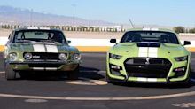 Watch The New 2020 Shelby GT500 Drag Race The Original