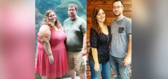 Couple loses 400 pounds together