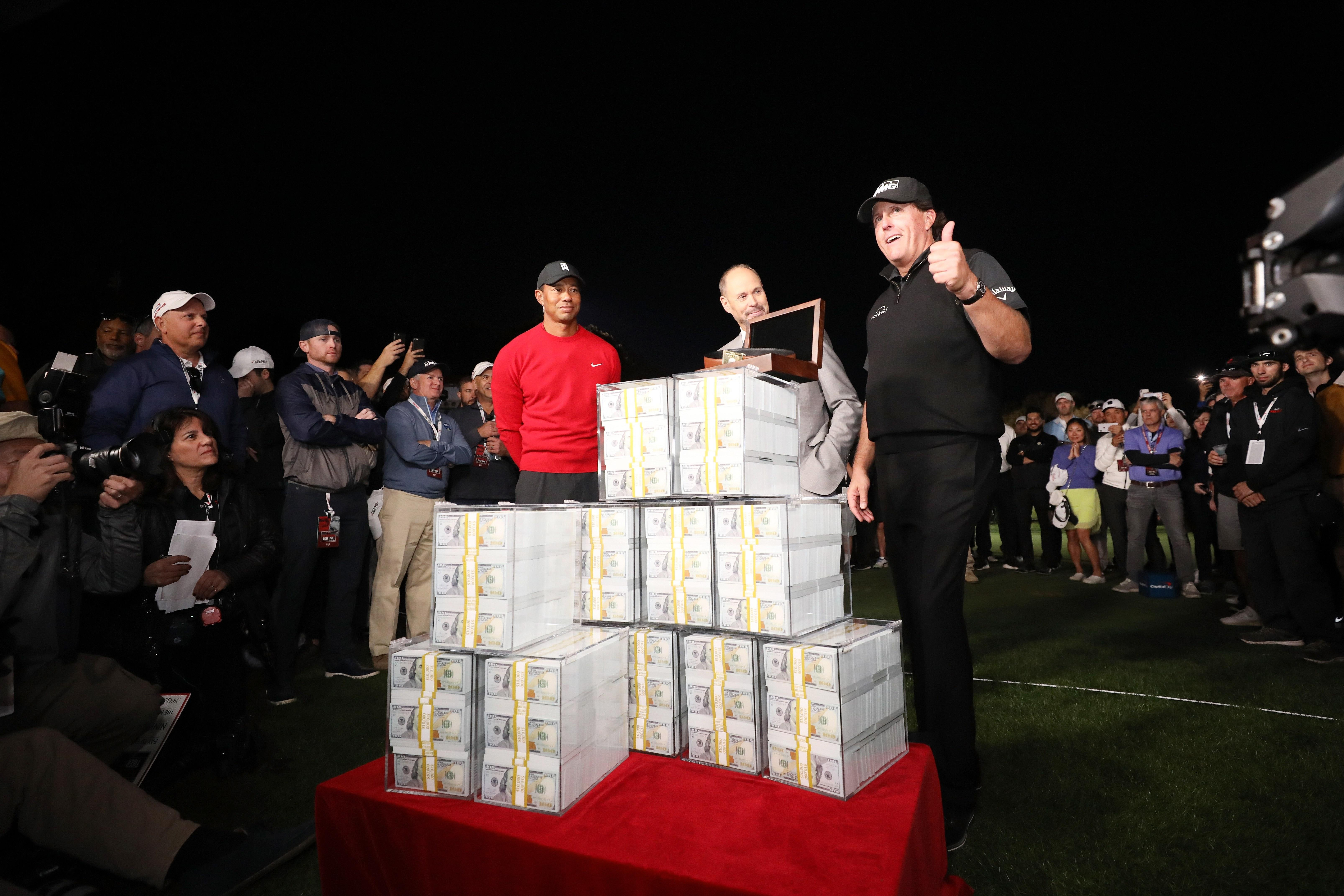 6f7ce27b655e8 Despite massive audience for Tiger Woods-Phil Mickelson match ...