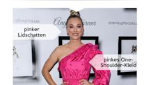 Look des Tages: Kaley Cuoco pretty in pink