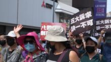 'It is our freedom': HK protesters again defy police ban with large rally
