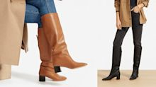 Everlane's chic knee-high boots are on sale right now — here's our honest review