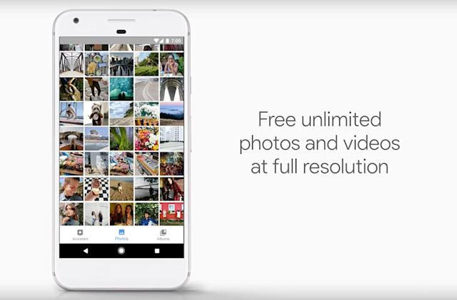 Google's Pixel phones arrive with full-res photo and video storage