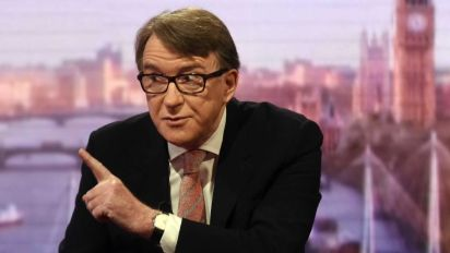 Pro-EU politicians must show courage to oppose Brexit, says Mandelson