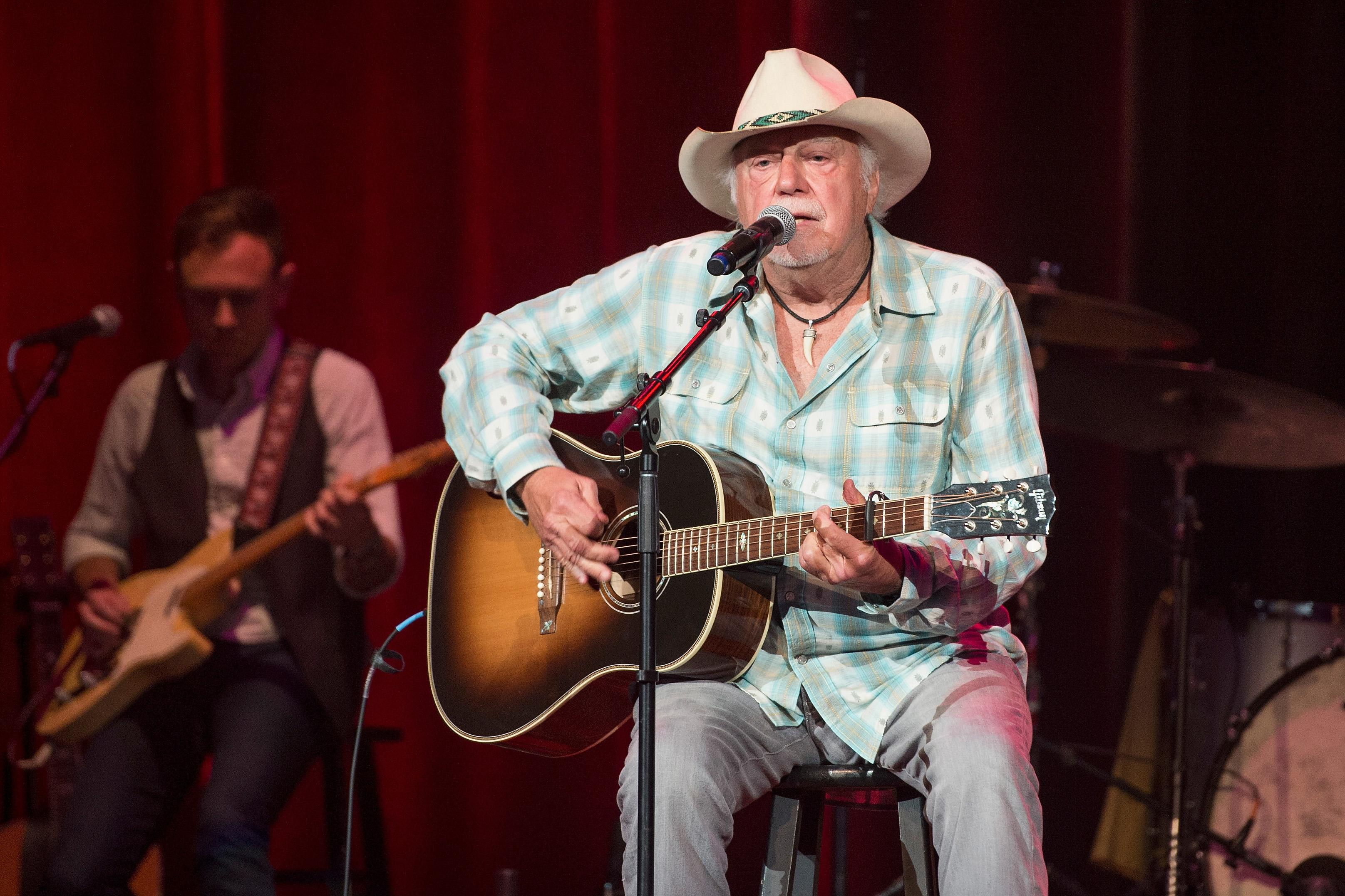 Jerry Jeff Walker, known for writing 'Mr. Bojangles,' dies at 78