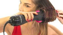'It works just like the commercials': $65 two-in-one hairdryer and brush has more than 7.300 reviews