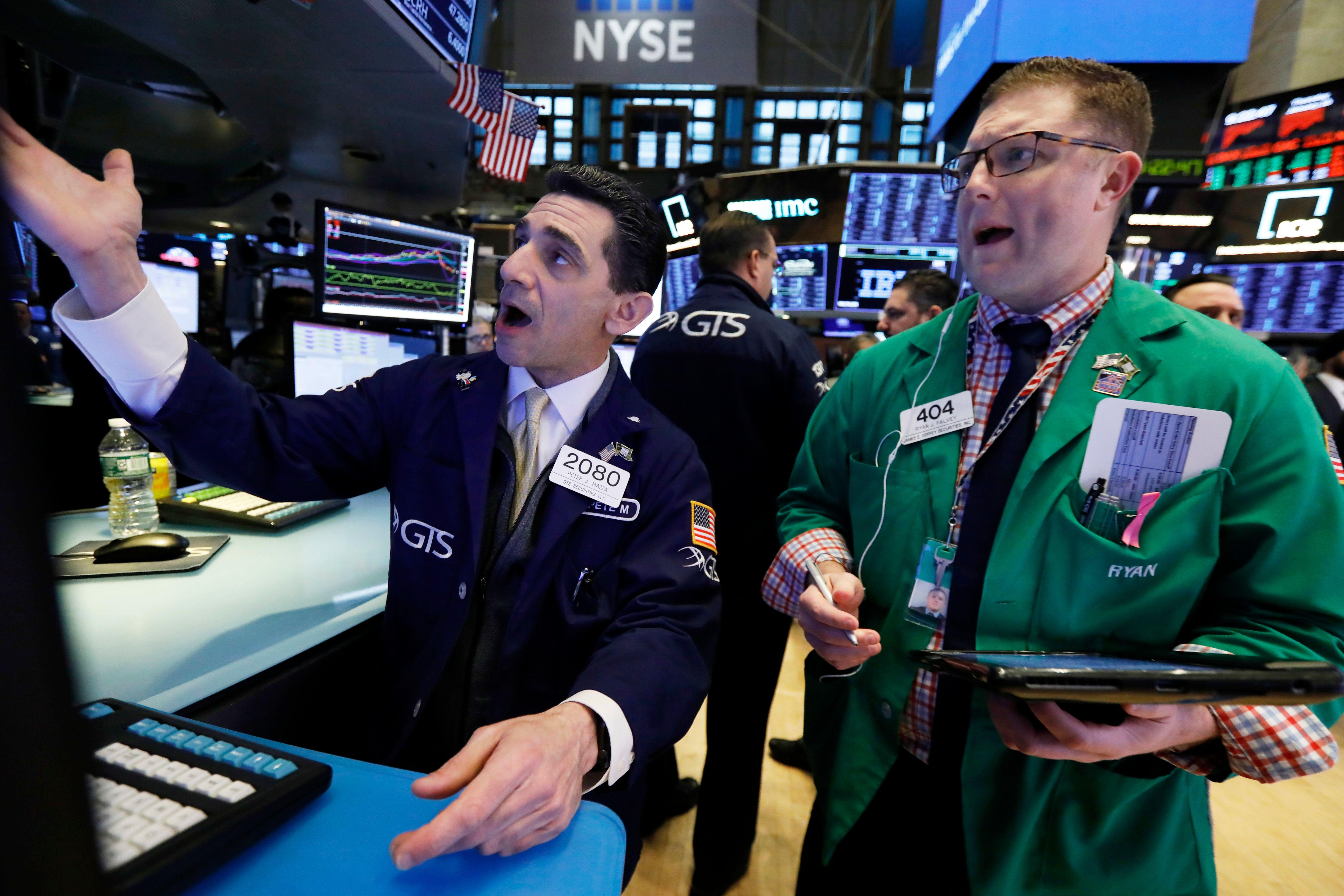 The stock market has been on a quiet tear since Christmas Eve