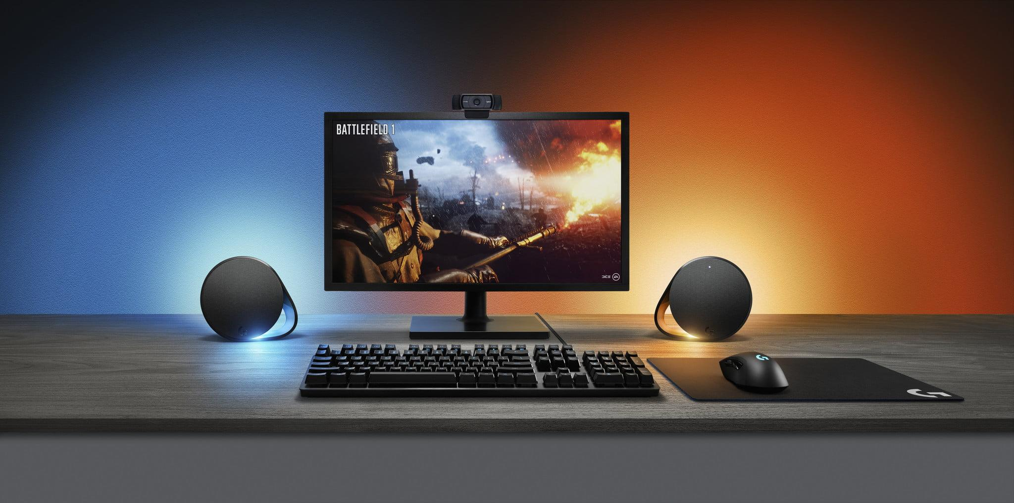 Gaming-focused Logitech G560 may be most immersive computer
