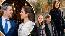 Princess Mary shares cute new pic of twins Josephine and Vincent