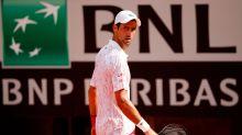 'That's just me': Djokovic loses cool again, breaks racket