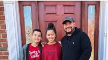 Jon Gosselin and rarely seen son Collin are all smiles during home visit with sister Hannah