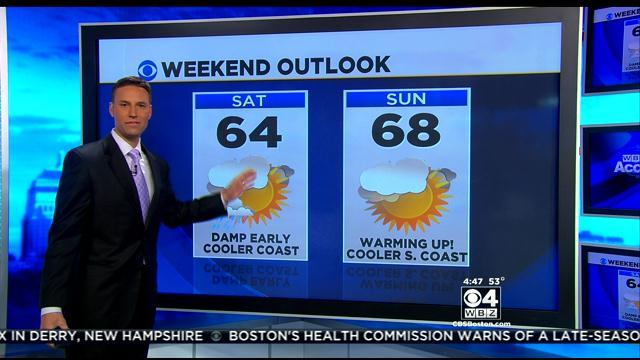 WBZ AccuWeather Forecast For April11th
