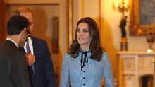 Kate Middleton apuesta por el color nude