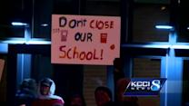 Parents, students fight to keep school open