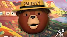 Smokey Bear Celebrates 75th Birthday with Celebrity Friends in Innovative New Animated Emoji Campaign