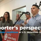 Arrested reporter slams conditions at U.S. detention centers