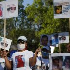 Mexican march for peace swarmed by angry protesters