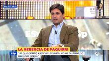 """Fran Rivera rompe su silencio sobre la herencia de Paquirri: """"Hay mucho más, hay gente que debería meterse en un agujero"""""""