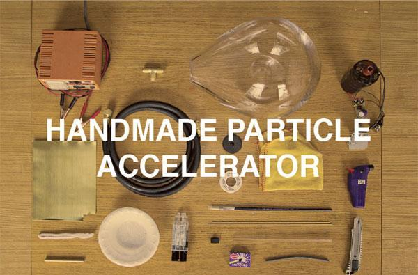 Handmade particle accelerator unveiled at Milan Design Week, Higgs-Boson a no-show