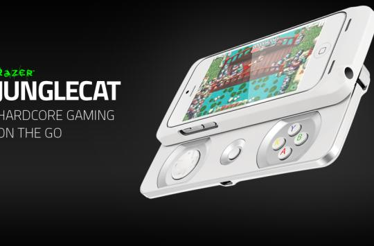 Razer Junglecat gives your iPhone a slide-out gamepad