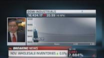 November wholesale inventories rise