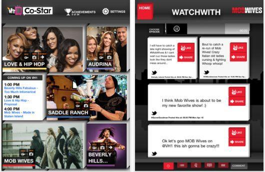 "VH1 introduces ""co-viewing"" app for iPad"