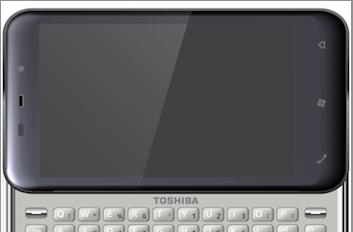 Toshiba spits out K01 QWERTY slider at MWC