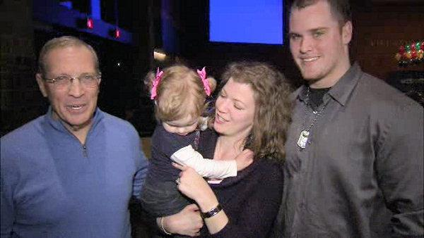 Villanova coach, college football player give gift of life