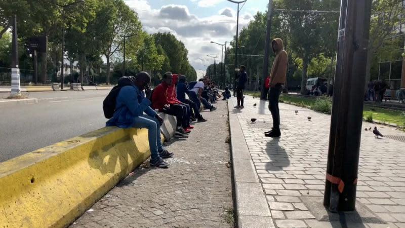 Paris Migranten