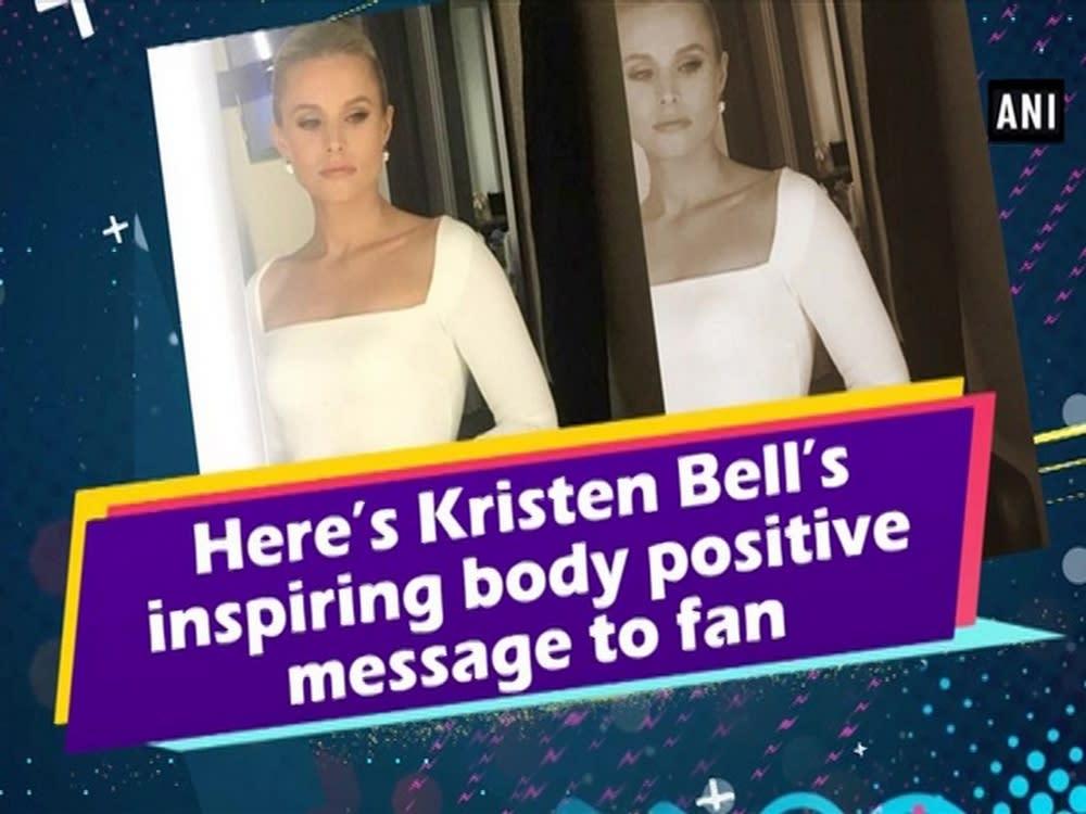 Kristen Bell Sends Inspiring Body Positive Message to Fan