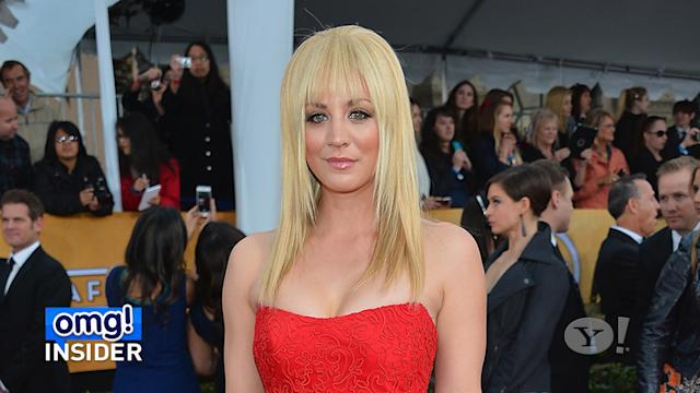 Kaley Cuoco's Red Carpet Regret: Big Bangs