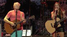 Video premiere: Caroline Jones and Jimmy Buffett's moving hurricane-relief duet