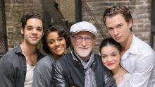 Steven Spielberg wraps 'stunningly moving' West Side Story shoot with sweet message