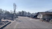 One Home Left Standing on Street Leveled by Deadly Almeda Drive Fire in Talent, Oregon