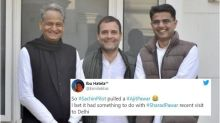 Twitter Goes Berserk With Memes as Sachin Pilot's Truce Ends Congress' Desert Storm