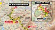 Tour de France 2020: Stage 18 preview, map and route from Meribel to La Roche-sur-Foron