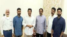 Andhra: TDP MLA Vasupalli Ganesh joins YSRCP along with sons