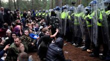 Police break up forest rave in England amid COVID-19 clampdown