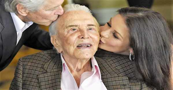 Time Has Not Been Kind To Kirk Douglas