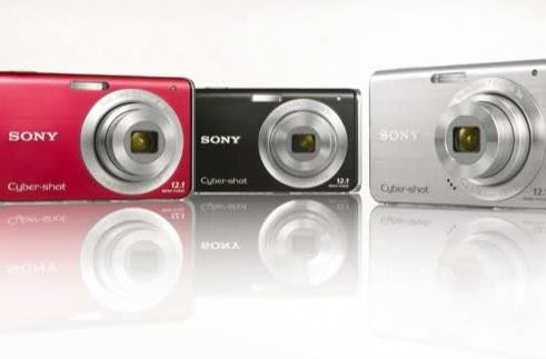 Sony Cyber-shot W180 and W190 cameras feature awesome digital zooms