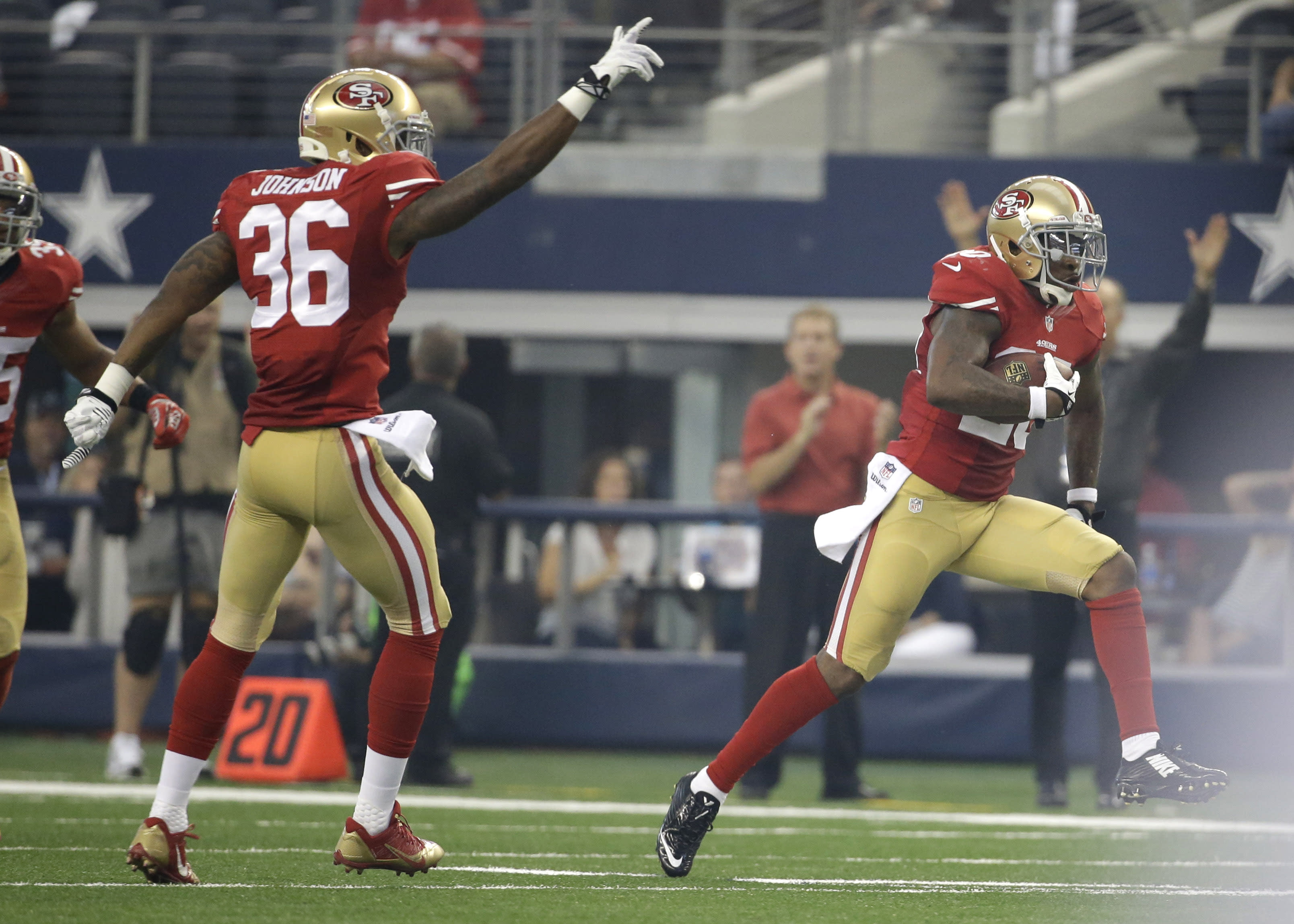 49ers Cbs Johnson Cox Step Up After Injuries