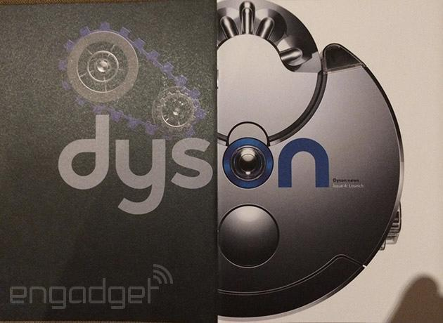 Dyson's incoming robot vacuum is called the 360 Eye and it looks like this