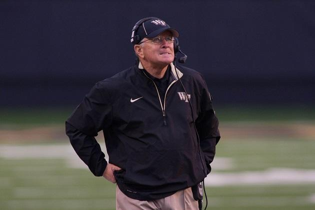 Report: Former Wake Forest head coach Jim Grobe will ...